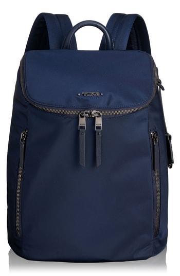 Tumi Voyageur Bryce Nylon Backpack - Blue
