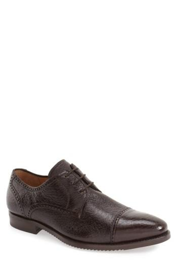Men's Mezlan 'capri' Cap Toe Derby .5 M - Brown