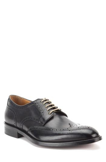 Men's Gordon Rush Keegan Wingtip .5 M - Black