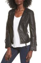 Women's Topshop Luna Faux Leather Biker Jacket