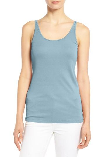 Women's Eileen Fisher Long Scoop Neck Camisole, Size - (regular & ) (online Only)