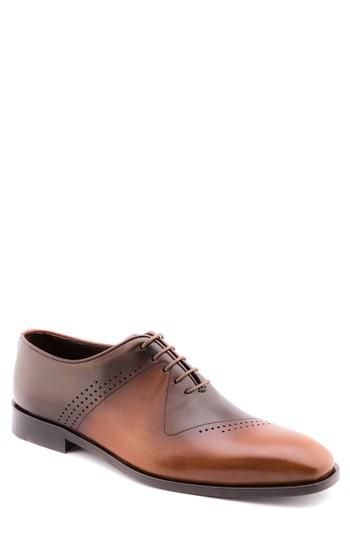 Men's Jared Lang Plain Toe Oxford Eu - Brown