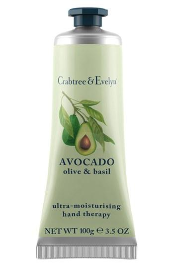 Crabtree & Evelyn 'avocado, Olive & Basil' Ultra-moisturising Hand Therapy .5 Oz