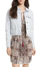Women's Rebecca Minkoff Verona Denim Jacket, Size - Blue