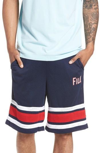 Men's Fila Parker Basketball Shorts - Blue