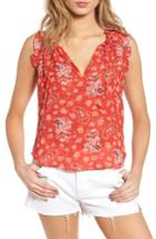 Women's Misa Los Angeles Abril Tank - Coral