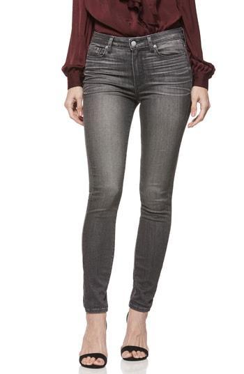 Women's Paige Hoxton High Waist Skinny Jeans - Grey