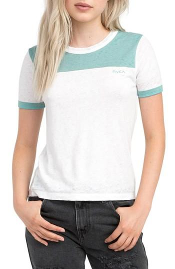 Women's Rvca All Sport T-shirt - White