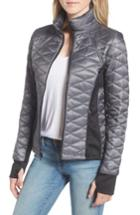 Women's Guess Quilted Jacket - Grey