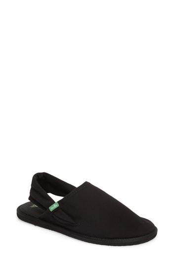 Women's Sanuk Yoga Sling Cruz Sandal M - Black
