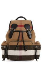 Burberry Medium Canvas Backpack -