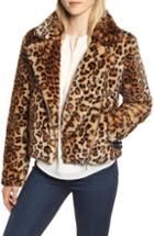 Women's Rebecca Minkoff Faux Fur Moto Jacket