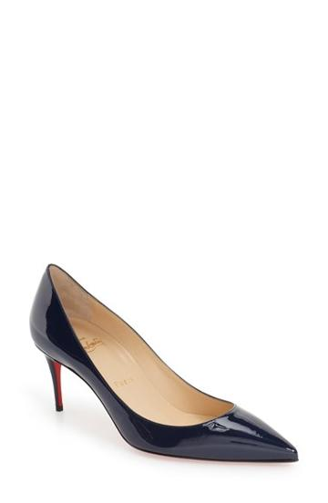 Women's Christian Louboutin 'decollette' Pointy Toe Pump