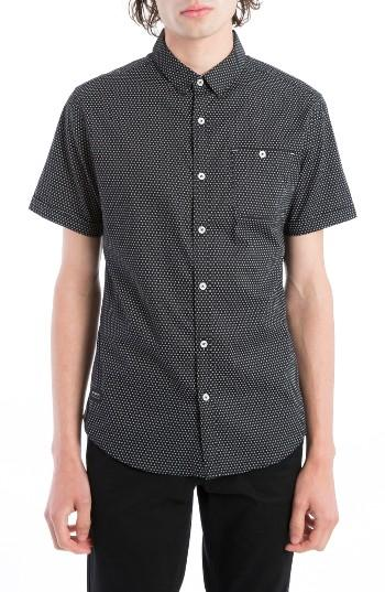 Men's 7 Diamonds Colossus Woven Shirt - Black