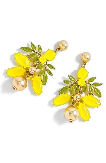 Women's J.crew Lemon Tree Earrings