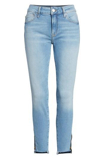 Women's Mavi Jeans Adriana Ankle Zip Step Hem Jeans