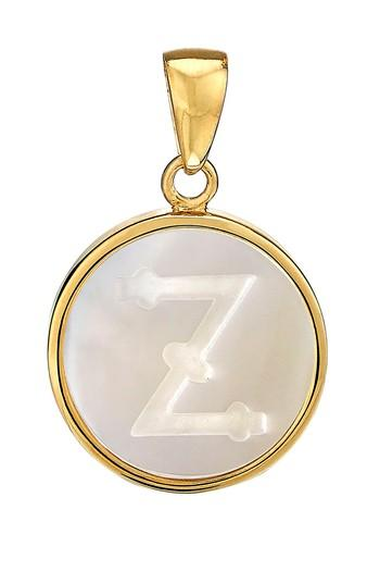 Women's Asha Mother-of-pearl Initial Charm