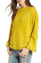 Women's Treasure & Bond Slouchy Fleece Pullover - Green