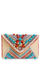 Shiraleah Beaded Envelope Clutch -