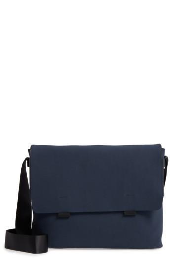 Men's Troubadour Canvas Messenger Bag - Blue