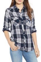 Women's Rails Kendra Plaid Shirt, Size - White