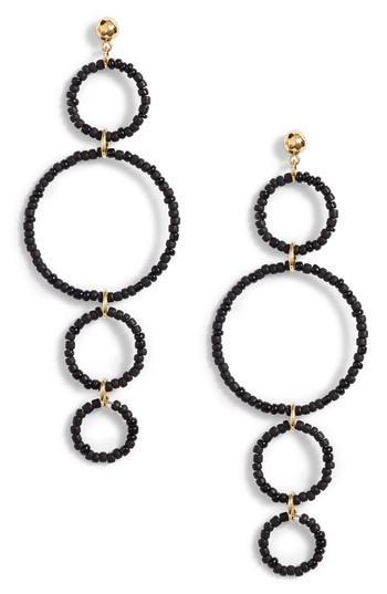 Women's Gorjana Sayulita Quartet Hoop Drop Earrings