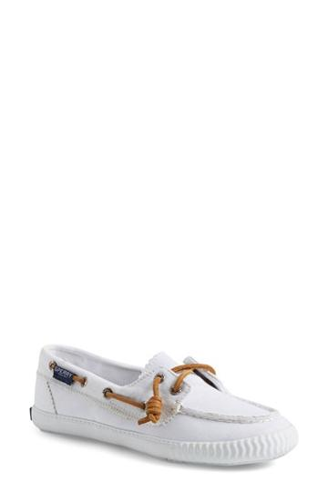 Women's Paul Sperry 'sayel Away' Sneaker .5 M - White