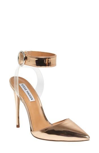 Women's Steve Madden Diva Pointy Toe Pump M - Pink