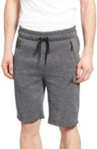 Men's Nike Jordan Icon Fleece Shorts - Black