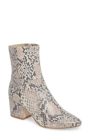 Women's Matisse At Ease Genuine Calf Hair Bootie .5 M - Grey