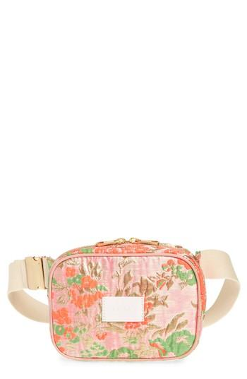 State Bags Crosby Brocade Belt Bag - Pink