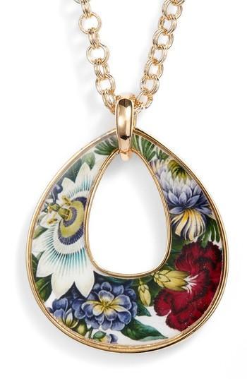 Women's Erwin Pearl Rudiments Teardrop Pendant Necklace