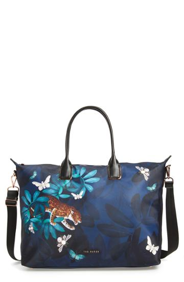 Ted Baker London Reetaa Houdinin Large Nylon Tote - Blue