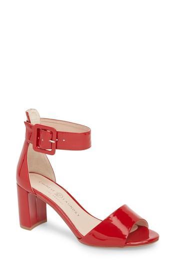Women's Chinese Laundry Rumor Sandal M - Red