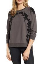 Women's Treasure & Bond Textured Cardigan, Size - Purple