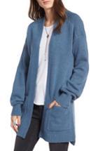 Women's Treasure & Bond Easy Throw-on Cardigan, Size - Blue