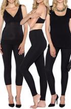Women's Angel Maternity 'the Tummy Tight' Postpartum Shapewear Kit (3-piece Set)