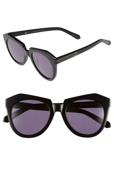 Women's Karen Walker 'number One' 50mm Sunglasses - Black