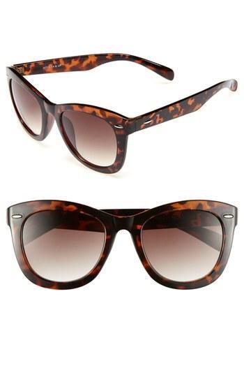 Fantas Eyes Tortoise Shell Cat's Eye Sunglasses (juniors)