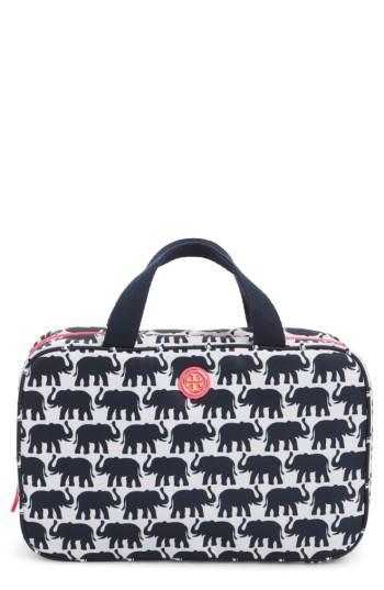 Tory Burch Hanging Nylon Cosmetics Case, Size - Elephant