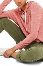 Women's Topshop Boiled Hoodie Us (fits Like 0-2) - Pink
