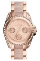 Women's Michael Kors 'mini Blair' Multifunction Bracelet Watch, 33mm