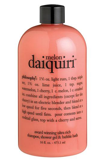 Philosophy 'melon Daiquiri' Shampoo, Shower Gel & Bubble Bath