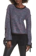 Women's Devlin Mandy Grommet Sleeve Sweater