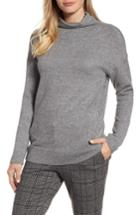 Women's Rd Style Funnel Neck Sweater - Grey