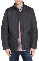 Men's Barbour Flyweight Chelsea Quilted Jacket, Size - Blue