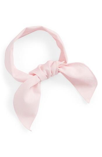 Women's Donni Charm Gigi Gingham Scarf, Size - Pink
