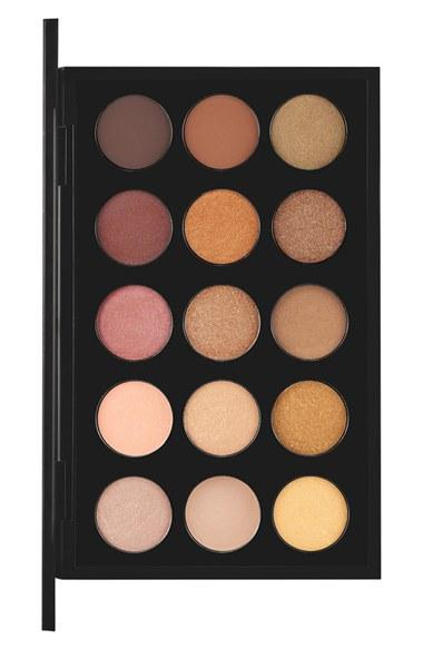 Women's Mac 'warm Neutral Times 15' Eyeshadow Palette - Warm Neutral ($160 Value)