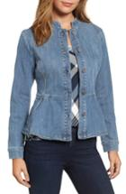 Women's Halogen Peplum Denim Jacket