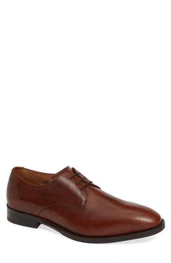 Men's Vince Camuto Hasper Plain Toe Derby M - Brown